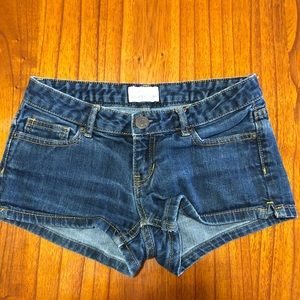 4/$25 Aeropostale jean shorts